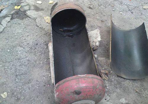 Изготовление коптильни из газового баллона