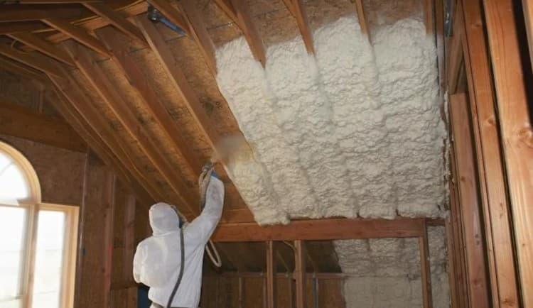 Утепление крыши изнутри и снаружи своими руками