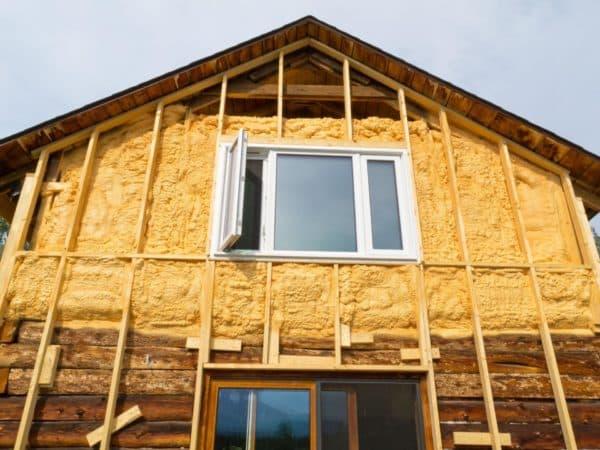 Утепление фронтона крыши дома снаружи