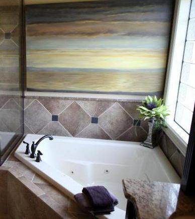 размер сидячей ванны