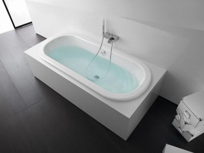 самая маленькая ванна размеры