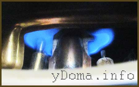 Проверка работы газовой колонки