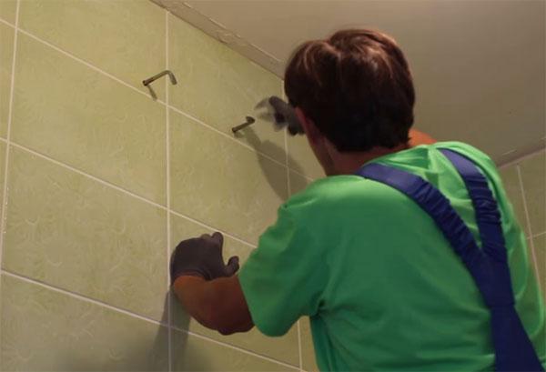 Монтаж креплений для водонагревателя
