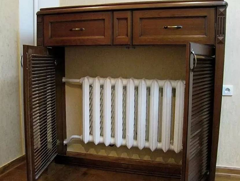 Полноценный шкаф-комод