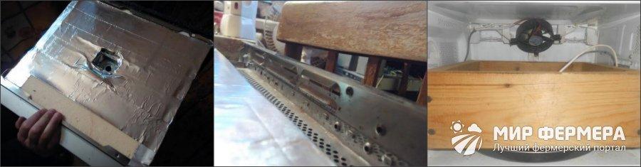 Сделать инкубатор из микроволновой печи