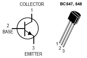 Распиновка транзистора Q1