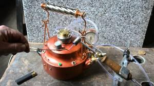 Как собрать газовую походную горелку