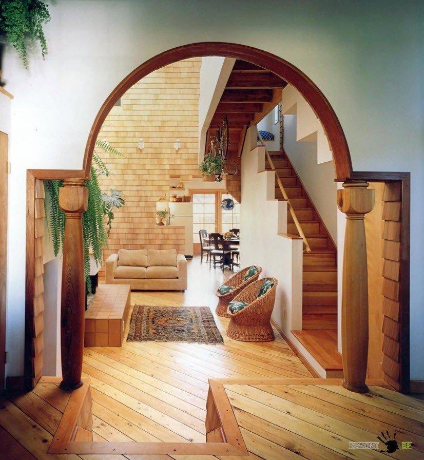 Классическая арка с колоннами