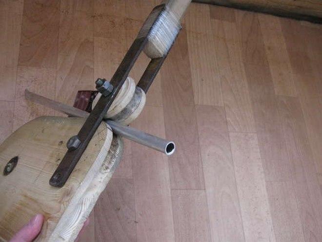 Трубогиб под два разных радиуса сгиба