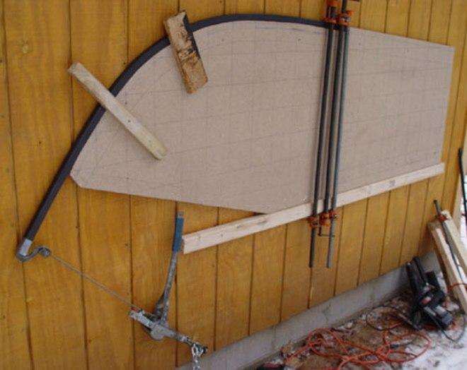 Лебедка поможет расширить функциональность простейшего ручного трубогиба