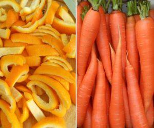 Продукты для получения натурального оранжевого пищевого красителя
