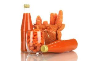 Полезный морковный натуральный краситель и сок