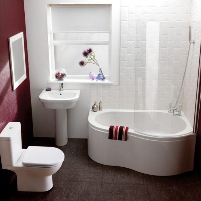 дизайн ванной комнаты в 3м