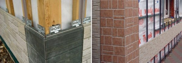 Фиброцементные фасадные панели для наружной отделки дома монтируются на кляммеры