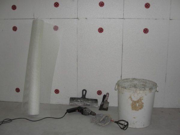 пенопласт для кирпичных стен гаража