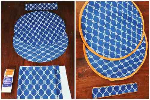 Заготовки из ткани