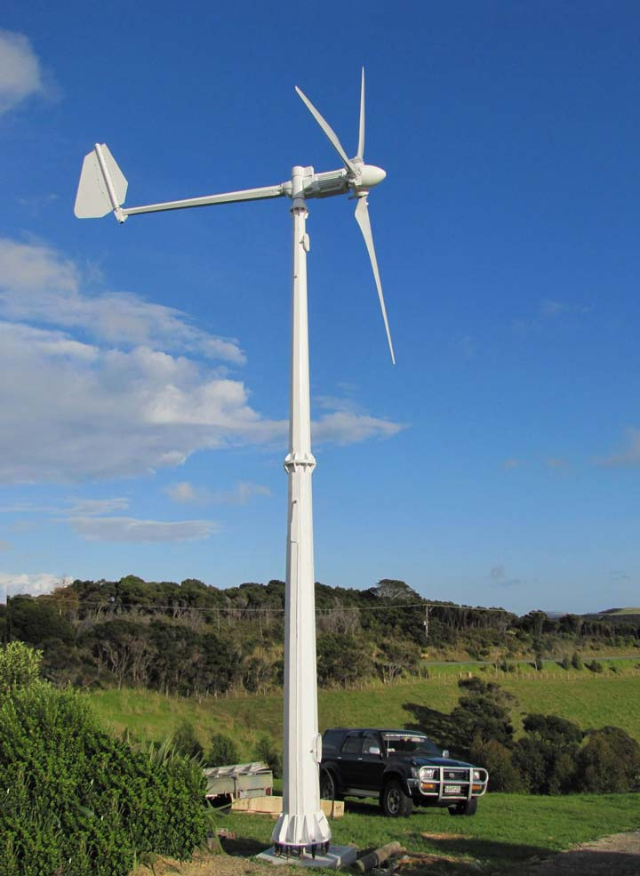 где лучше установить ветрогенератор