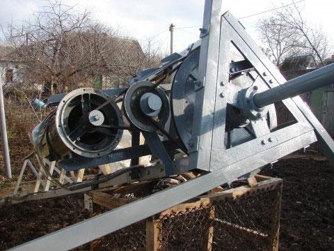 повышающий редуктор для вертикального ветряка