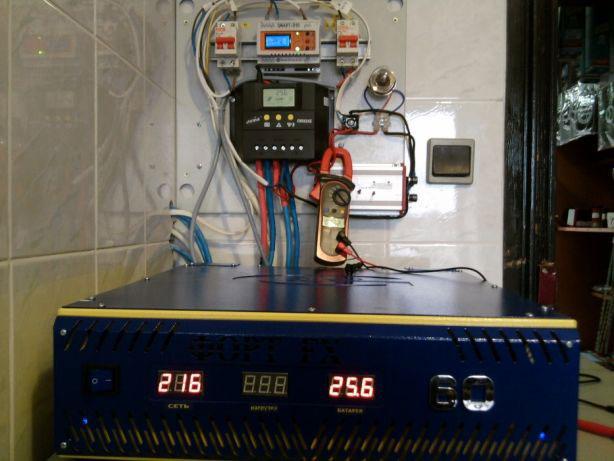 система питания дома от ветрогенератора