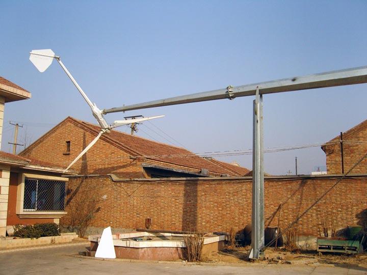 большой и мощный ветряк для дачи и дома