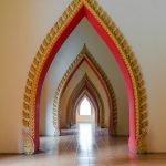 Дизайн арки в восточном стиле