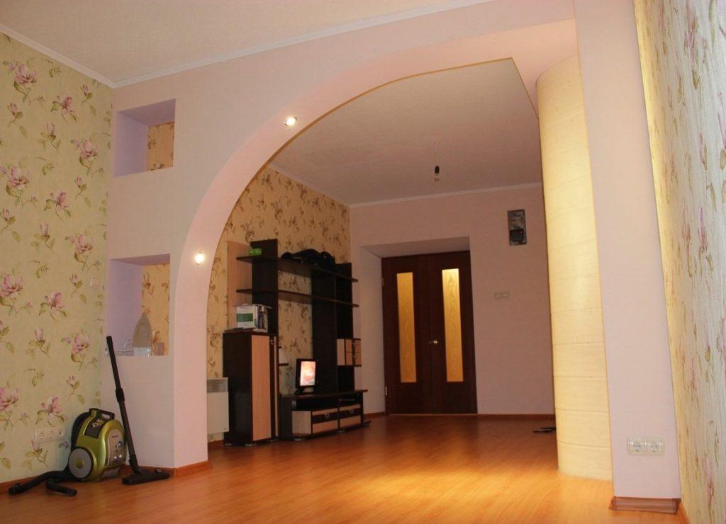 Дизайн арки полумесяцем