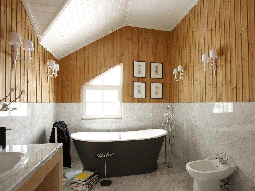 Уютная комната в деревенском стиле