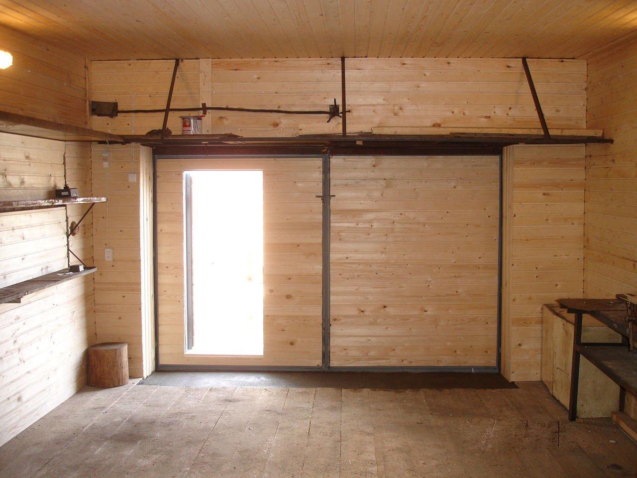 как утеплить гараж дешево изнутри