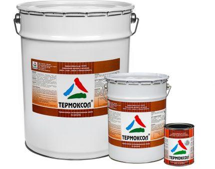 Краска для радиаторов Термоксол