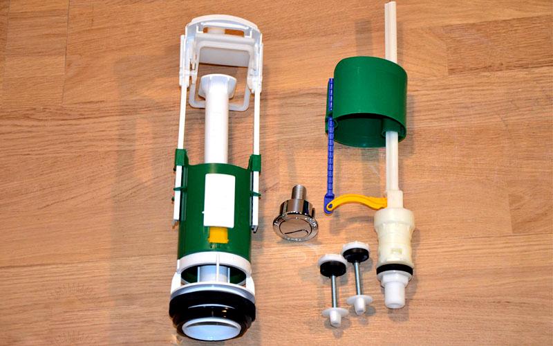 Поплавок от подобной арматуры поможет автоматизировать подачу воды в ёмкость