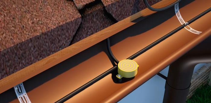 где ставить датчики влажности и осадков для системы обогрева кровли