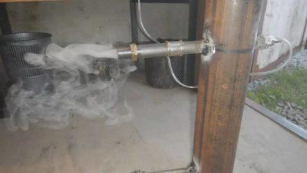 Собираем дымогенератор своими руками