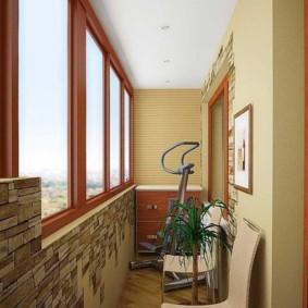 дизайн маленького балкона фото варианты