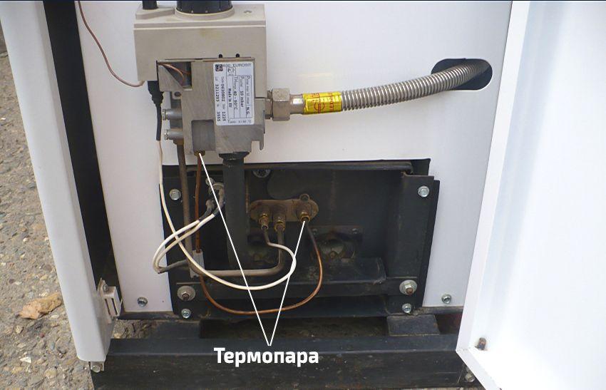 Термопара на газовом котле