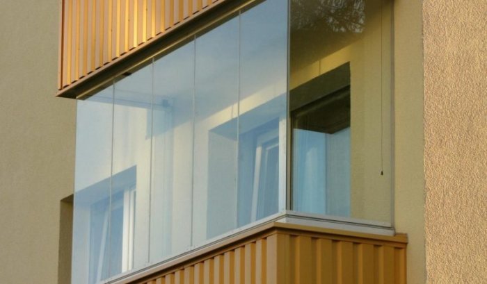 картинка безрамные окна