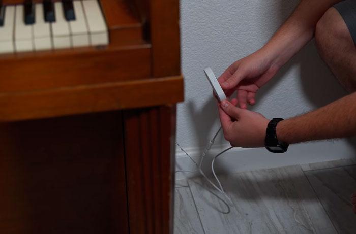 подключение подсветки пианино через музыкальный контроллер