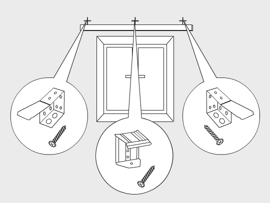 Как повесить жалюзи на пластиковые окна