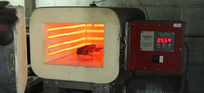 муфельная печь для закалки стекла