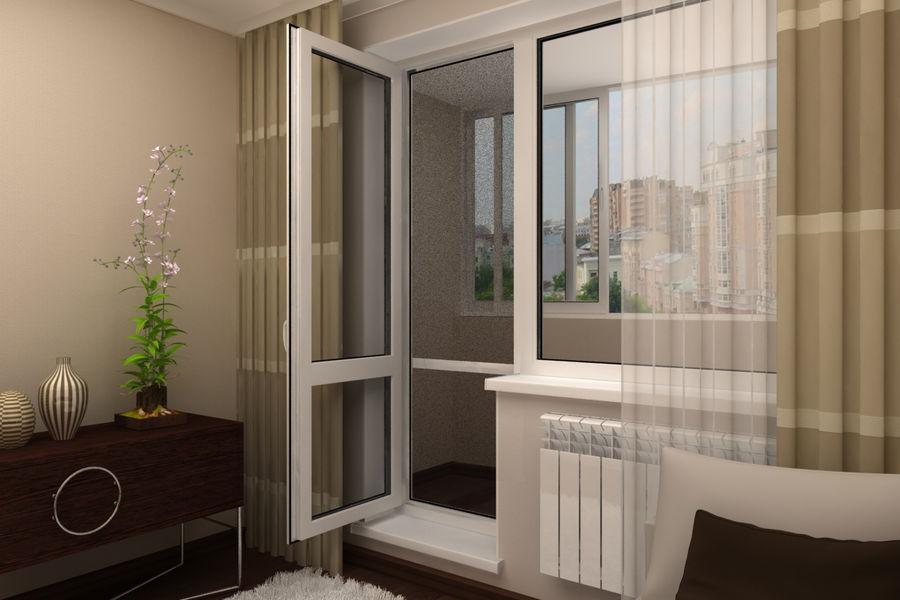Балконная дверь 1