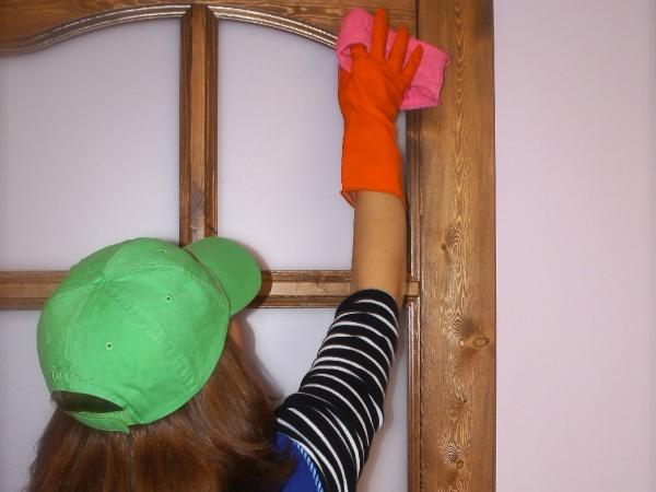 ламинированные двери - как ухаживать