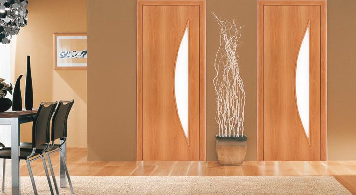 уход за ламинированными дверями