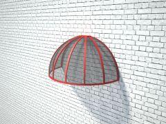 купольно-сводчатый козырек