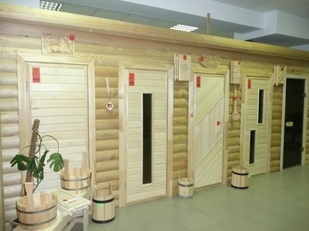 Двери для бани - виды