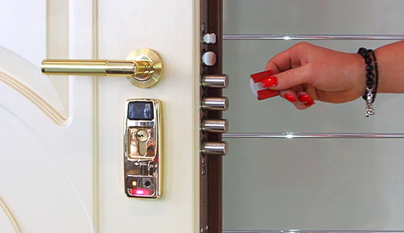 электронный замок на входную дверь - принцип работы