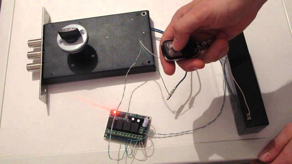 Электрозамком своими руками