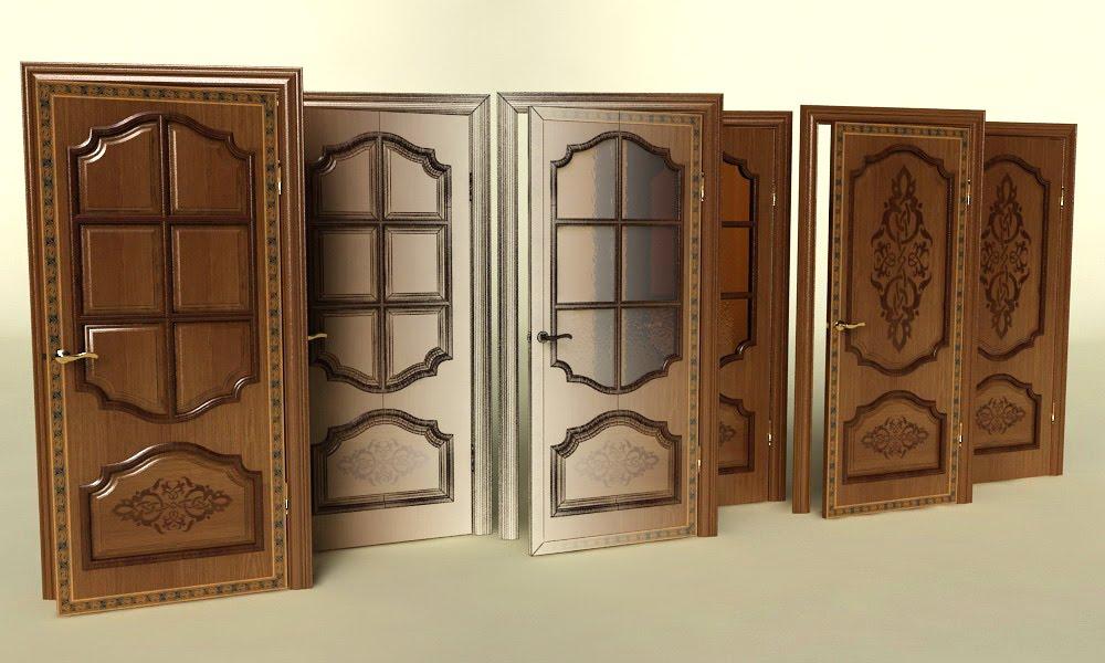 Филенчатая дверь межкомнатная
