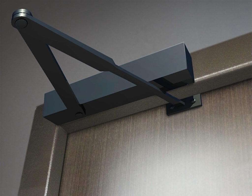 Как отрегулировать доводчик межкомнатной двери
