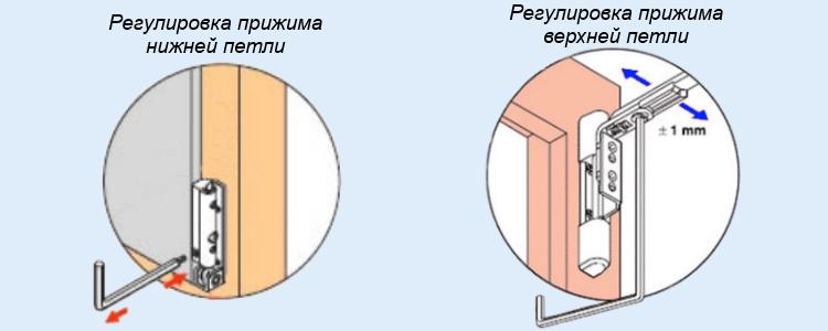 Как отрегулировать пластиковую балконную дверь - ремонт и пр.