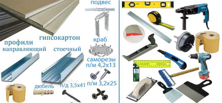 как уменьшить дверной проем - инструменты и материалы