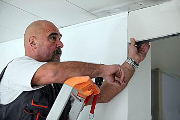 Как уменьшить дверной проем по высоте